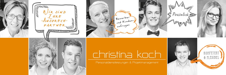 Christina koch ihr partner f r personaldienstleistungen for Koch personaldienstleistungen